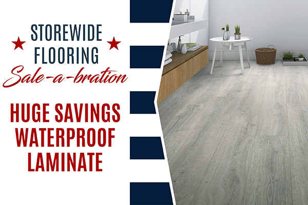 Waterproof Laminate On Sale! STARTING AT $2.99 SQ.FT.