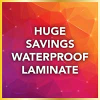 Save on Waterproof Laminate Flooring and Pay no Sales Tax during our National Gold Tag Flooring Sale at Murley's Floor Covering in Kennewick, WA